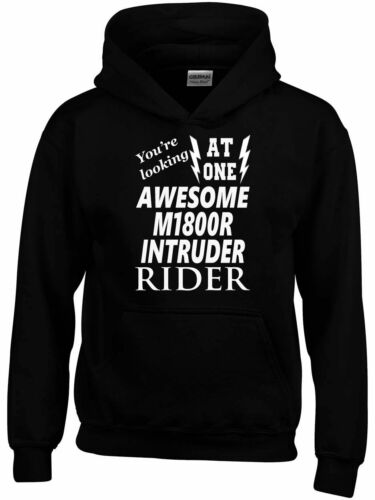 Awesome M1800R Intruder Rider Hoodie Personalised Funny Birthday Gift  Biker