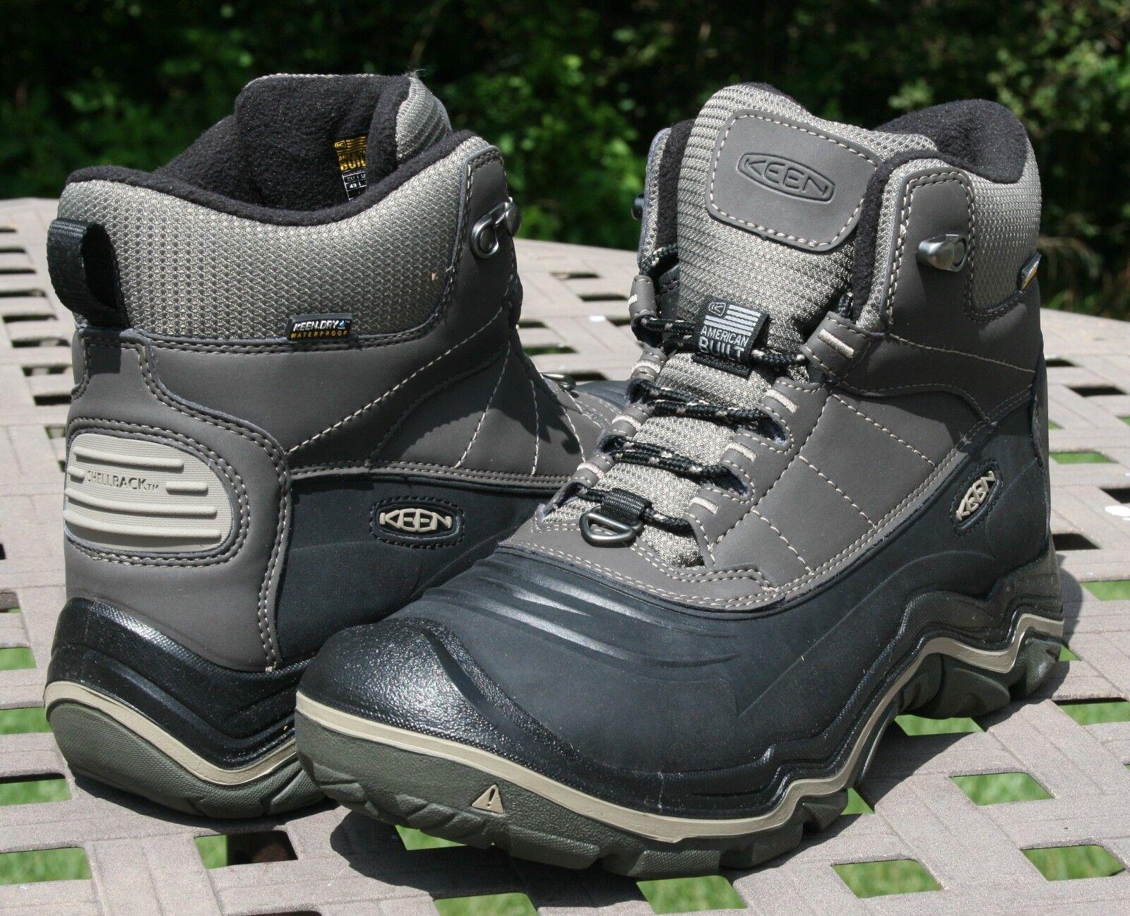 KEEN DURAND POLAR SHELL WP US 10 Men's Hiking Boot