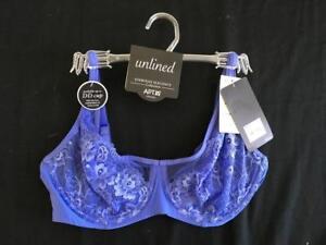 Apt-9-unlined-bra-Size-36C-blue-NEW-NWT-lace