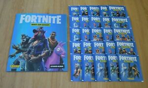 PANINI Fortnite Sticker-LEERALBUM 2 X Display//100 pochettes-NEUF /& neuf dans sa boîte