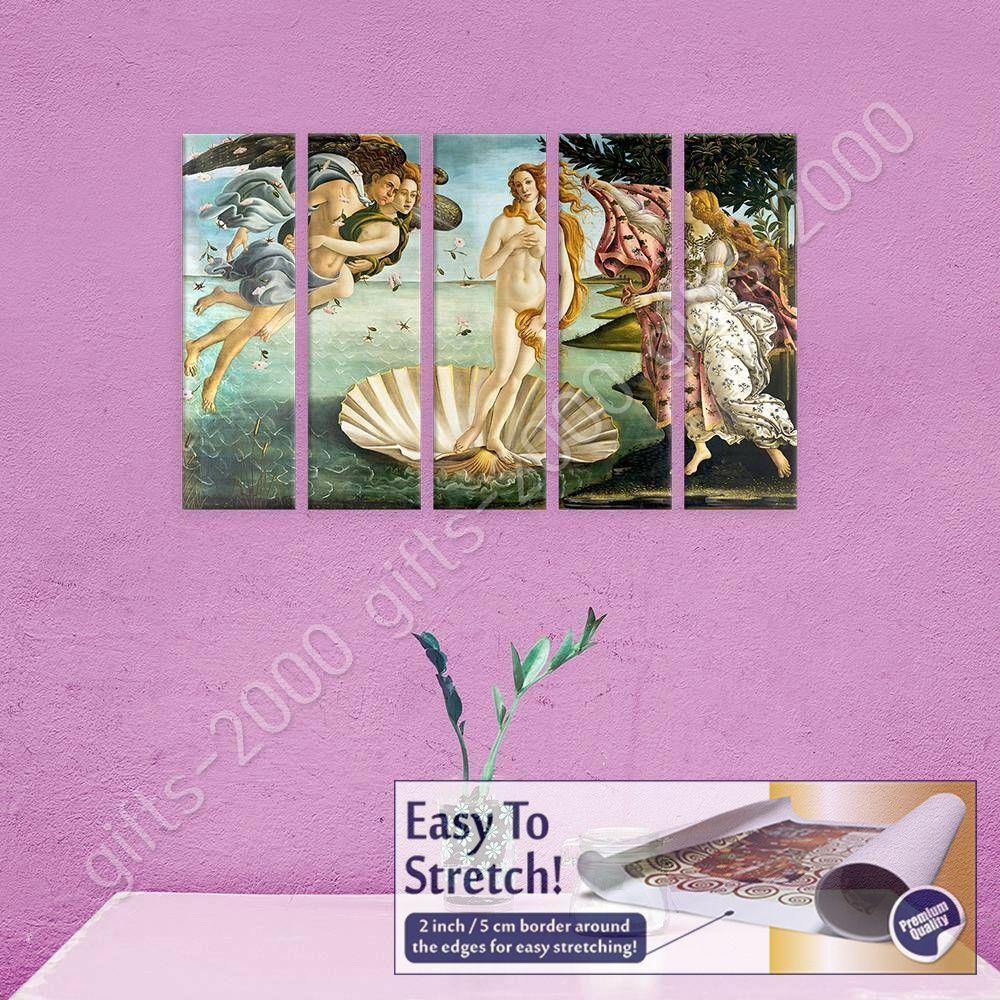 6521.Birth of venus painting by sandro botticelli.POSTER.art wall decor