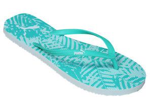 Puma Womans First Thong Mint Flops Dd62 Beach Leaf Flip 01 Casual 360256 1w4qAOn1