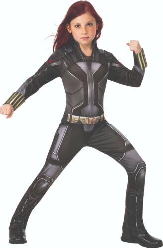 Marvel Avengers Natacha Enfants Costume Rubies 3702134-Black Widow Movie