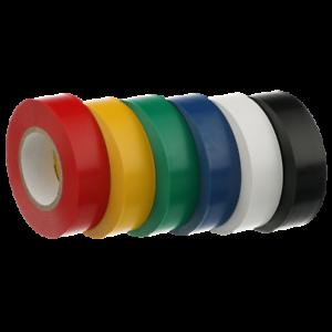 Flame Retardant Insulating Electrical PVC Insulation Tape 19mm x 20 Metres