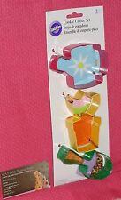 Garden Party,Tools Cookie Cutter Set,Wilton,Metal,3pc.Multi-Color,2308-0094