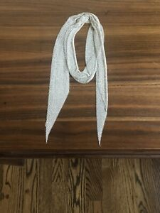 Tiffany-amp-Co-38-inch-Mesh-Scarf-Necklace-Excellent-Condition-never-worn