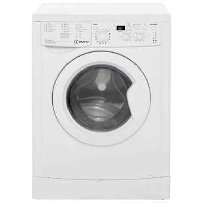 Indesit IWDD7143 Eco Time Free Standing 7Kg 1400 Spin Washer Dryer White New