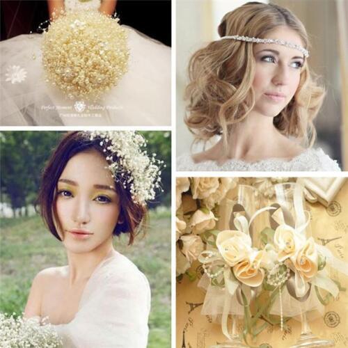5M Rose Pearl Bead Chain Garland Wedding Centerpiece Flower Table Decoration