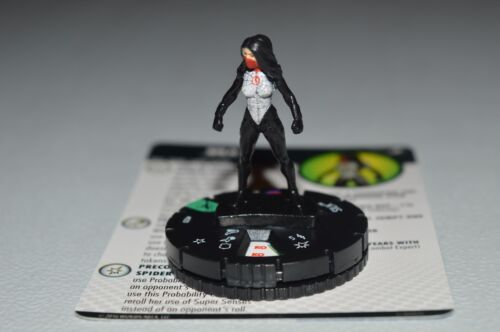 Marvel Heroclix Superior Foes of Spider-Man Silk Uncommon 020