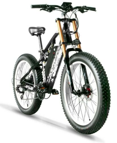 26-034-Electric-Bicycles-Mountain-E-Bike-Fat-Tires-48V-17Ah-1000W-Motorcycle-Style