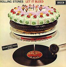 "ROLLING STONES ""LET IT BLEED"" ORIG UK MONO 1969 EARLIEST 1A/1A  w/POSTER"