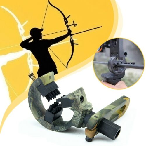 Hunting Shooting Archery Compound Bow Arrow Rest Whisker Brush Biscuit L//R Hand