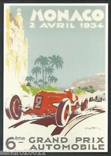 Monaco 1934 - Grand Prix - cartolina - Geo Ham