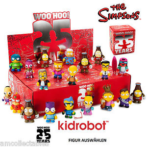 Kidrobot the simpsons 25th anniversaire mini s rie - Anniversaire simpson ...