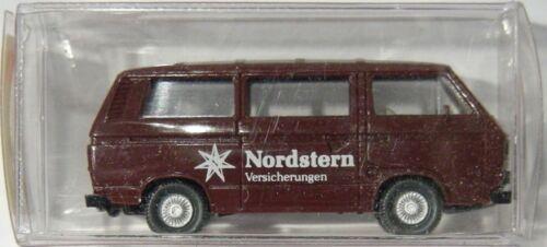 NEU VW Bus T3 Modell Nordstern Braun Wiking 1:87 H0