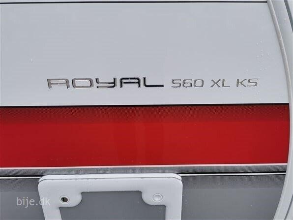 Kabe Royal 560 XL KS, 2021, kg egenvægt 1650