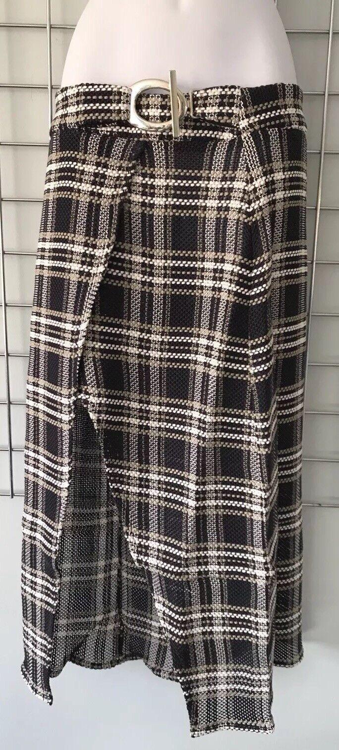Beaufille Multi Woven Tartan Canopus Skirt