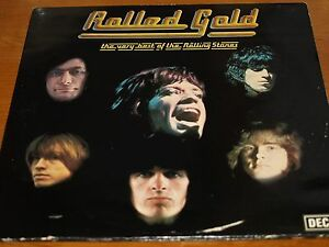 Rolled-Gold-Rolling-Stones-Decca-ROST-1-2-DOUBLE-ALBUM-records-M