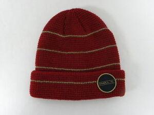 O'Neill Walla Walla  Dark Red Beanie Hat Cap