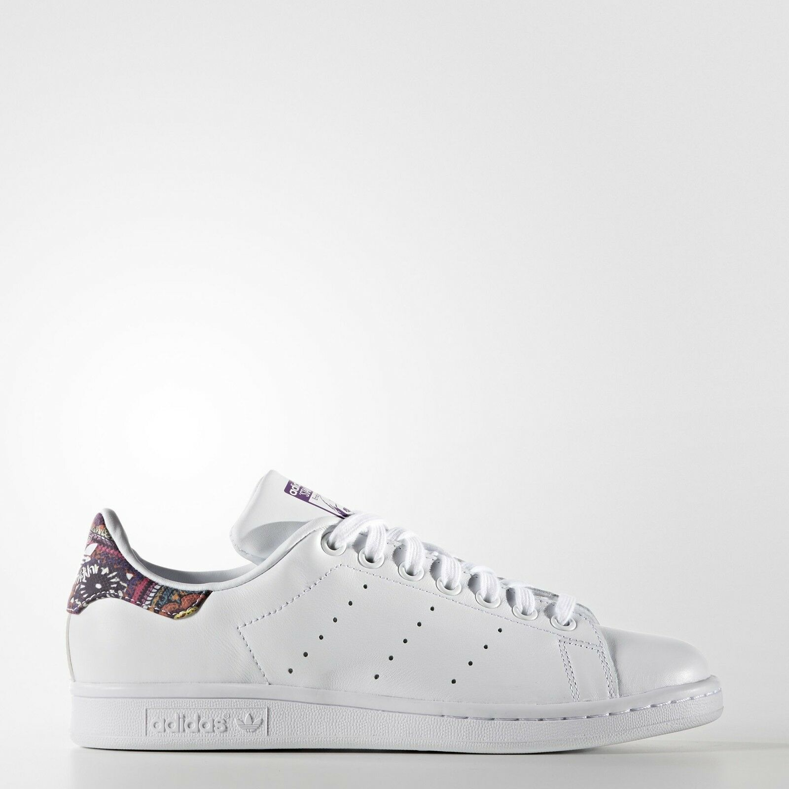 Cross-border:- Adidas Originals Women's Stan Smith Leather White Comfort Shoes low price