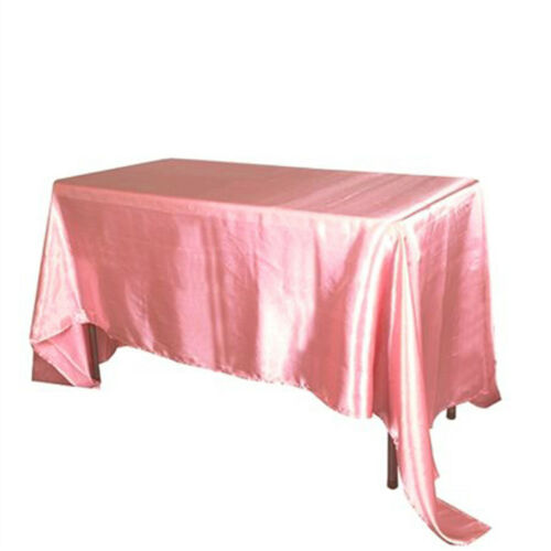 145x320cm Satin Tablecloth Table Cover for Banquet Wedding Party Decoration