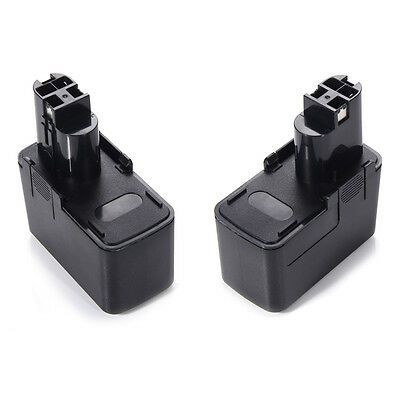 2 X Akku Batterie Battery für Bosch PSR 120 PSR 12VE / PSR 12VES-2 - 12V - 3,0Ah