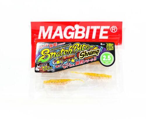 6522 Harimitsu Mag Bite Snatch Shrimp 2.5 Pulgada 6 per paquete 04