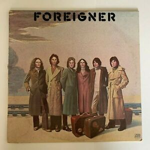 Foreigner-Foreigner-1977-Vinyl-LP-Condition-VG
