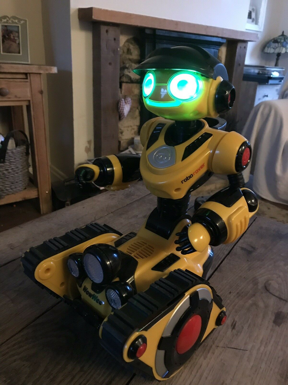 Robo Robot Large One from Wow Wee Yellow tested works