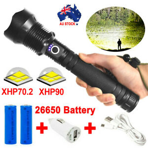 XHP90-Most-Powerful-110000LM-Tactical-3-Mode-Zoom-Flashlight-LED-Hunting-Torch