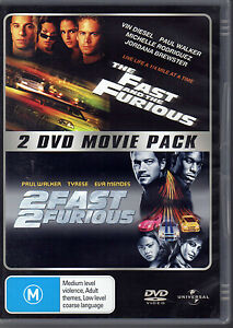 THE-FAST-AND-THE-FURIOUS-2-FAST-2-FURIOUS-2-DVD-PACK-LIKE-NEW-FREE-POST