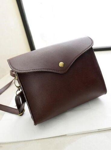 Women/'s Handbags Fashion Crossed Body Color Block PU RRP £15
