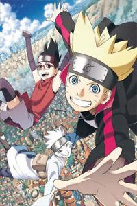 Anime Manga Naruto Baruto Characters Poster Group High Grade Glossy Laminated