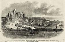Commodore Barney Torpedoed Civil War Gunboat James River Virginia VA 1863