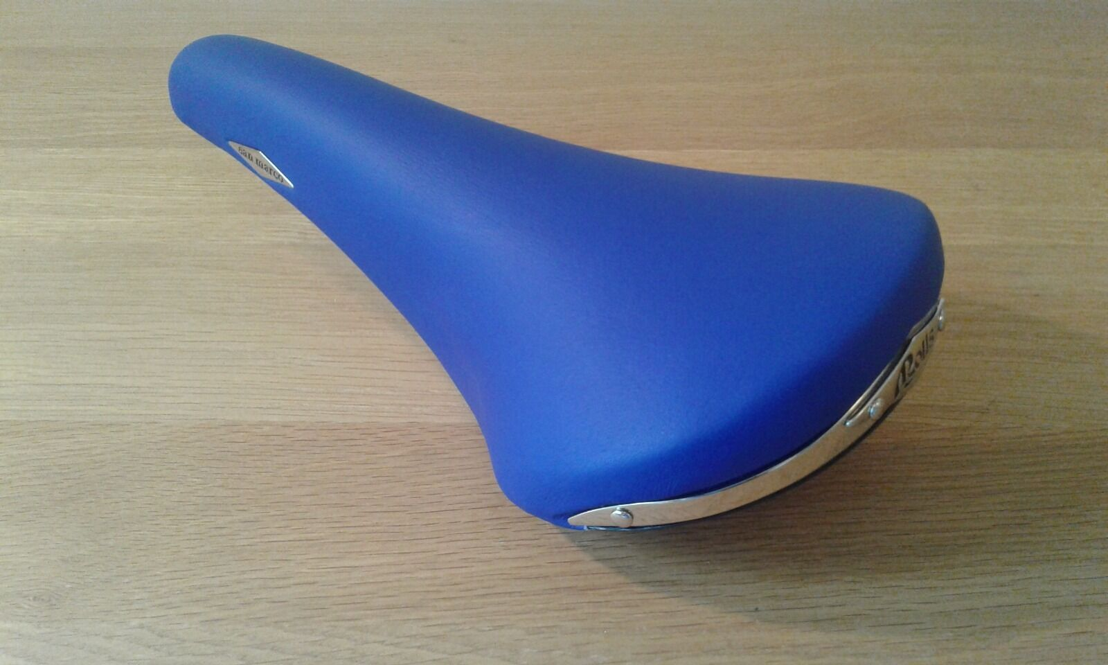 New  NOS San Marco Rolls blueee microfeel limited edition saddle Eroica  free shipping worldwide