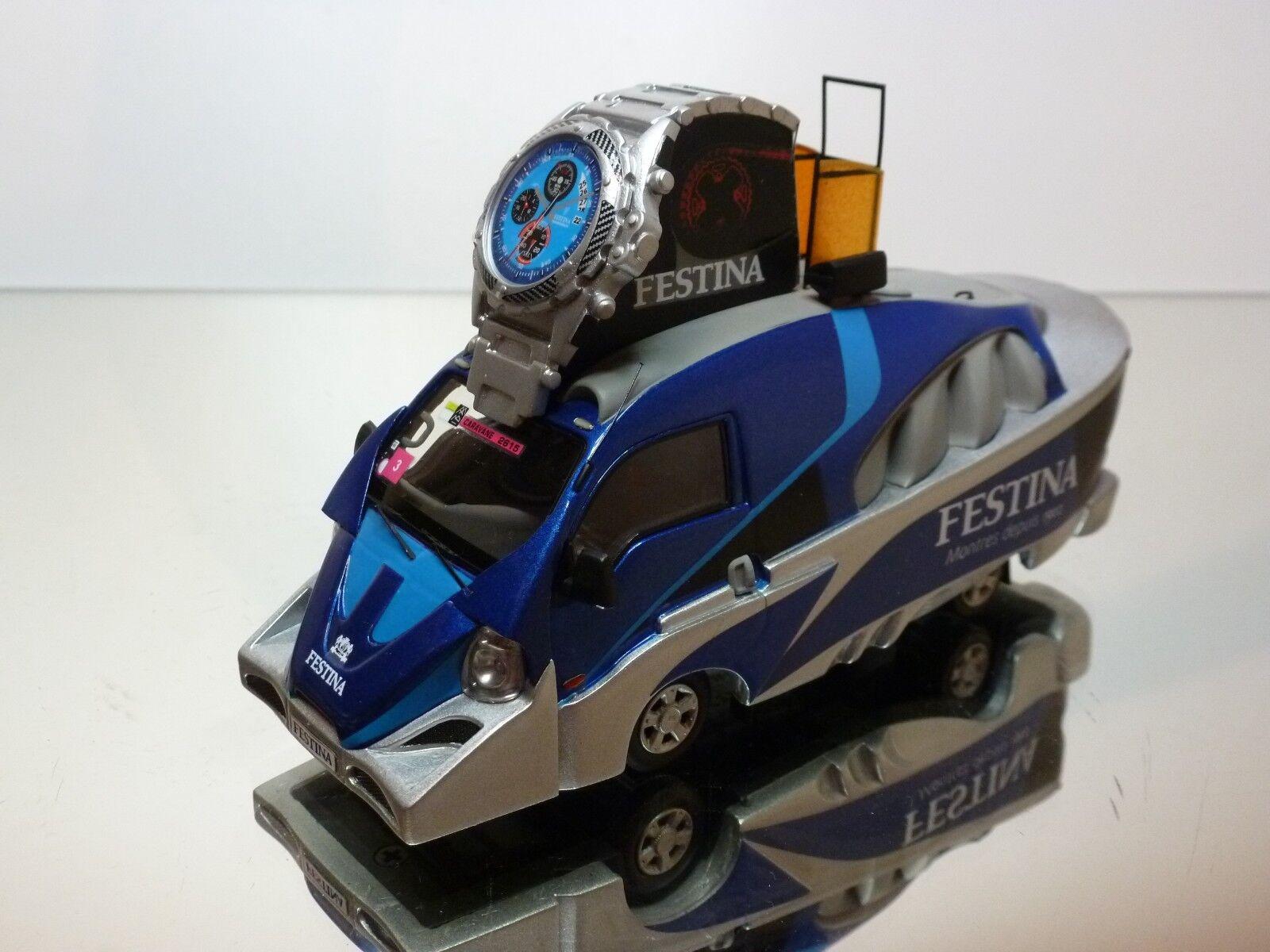 PERFEX 205 KIA FRONTIER FESTINA TOUR CYCLISTE 2012 - blueE 1 43  - EXCELLENT- 39