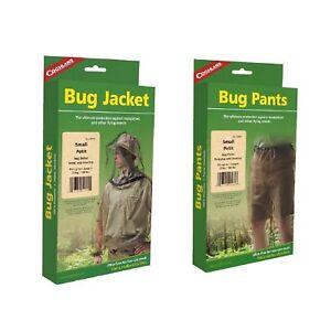 Coghlan-039-s-Bug-Suit-Pants-amp-Jacket-Small-Black-Unisex-Lightweight-Mosquito-Net