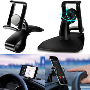 360-Rotation-Car-HUD-Dashboard-Mount-Phone-GPS-Holder-Stand-Bracket-Clip-Stand