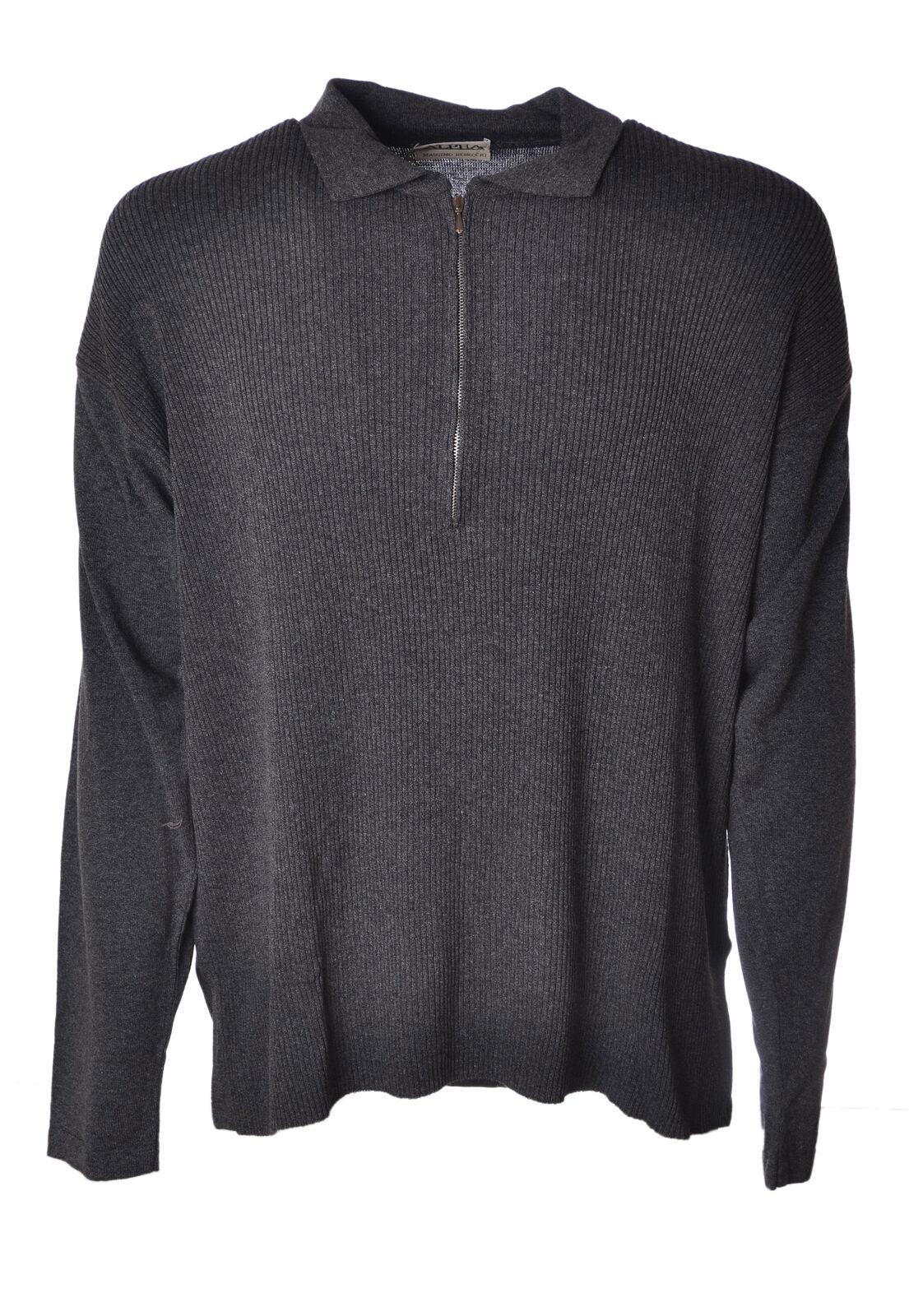 Alpha  -  Sweaters - Male - Grey - 4626722A180056