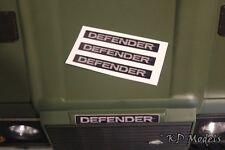 Personalizzato decalcomania DEFENDER logo per Gelande D90 D110 RC4WD Land Rover Crawler