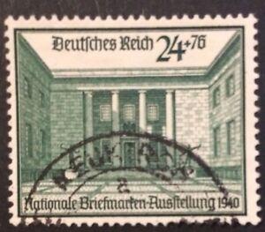 Deutsches Reich Nationale Briefmarkenausstellung Mi-Nr. 743 gestempelt - Berlin, Deutschland - Deutsches Reich Nationale Briefmarkenausstellung Mi-Nr. 743 gestempelt - Berlin, Deutschland
