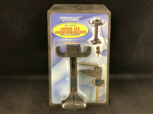 Badger Airbrush Co 125 Airbrush Holder Holds Two Airbrushes  New Ships Free