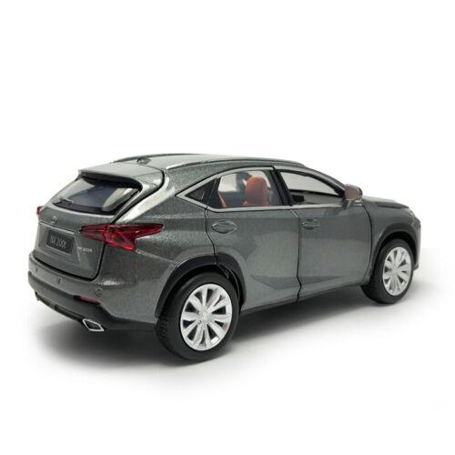 Lexus NX 200T SUV 1//32 Metall Die Cast Modellauto Spielzeug Model Sammlung Grau