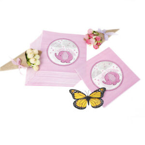 20pcs-bag-Baby-Shower-Paper-Napkins-Serviettes-PINK-Girl-Party-decorations-FO