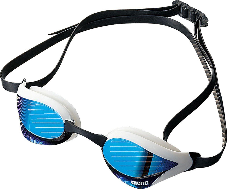 Arena Swimming Goggles el empañamiento Cojín Tipo Cobra Core Azul Humo AGL-240M Nuevo