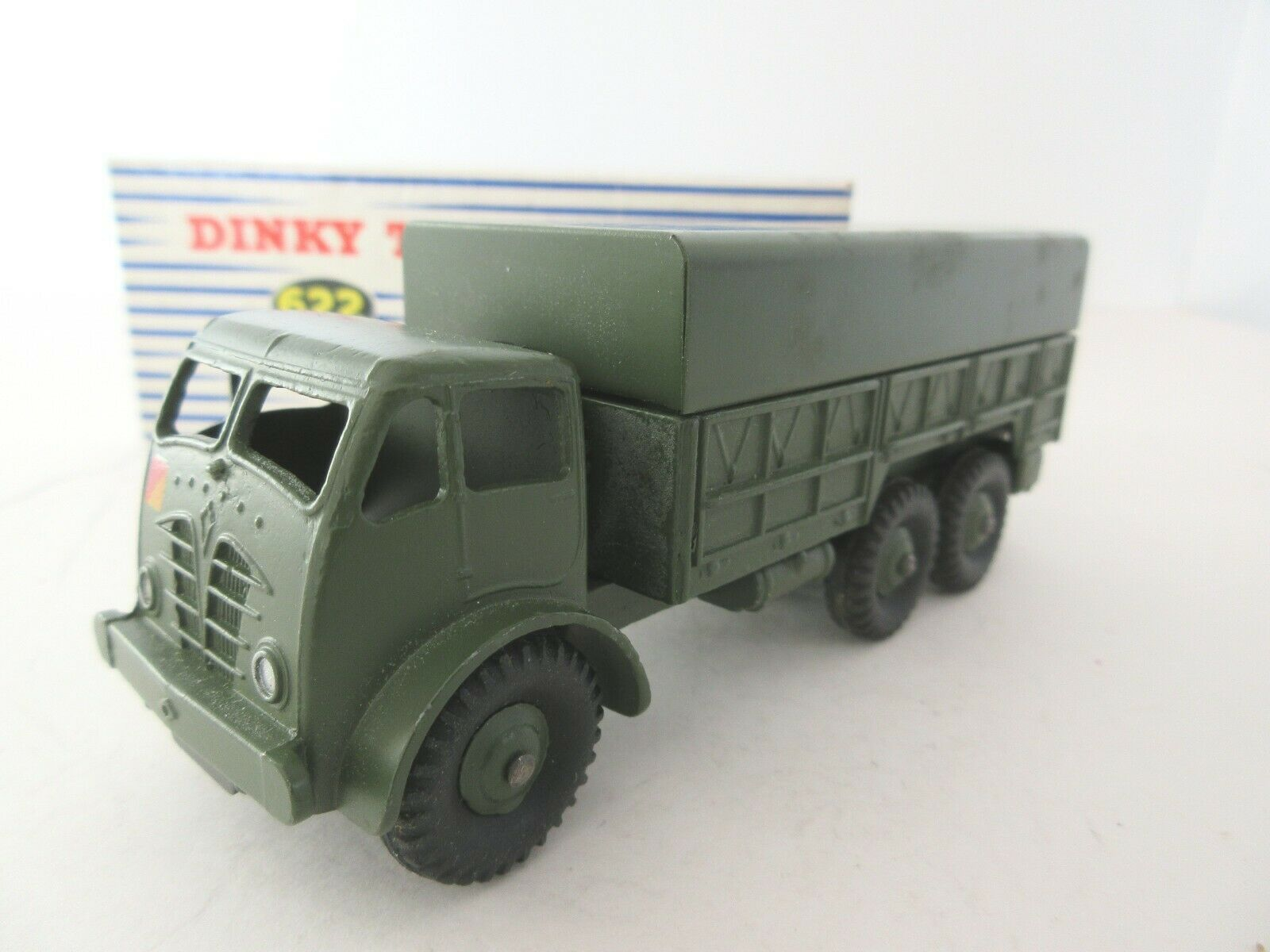 Dinky Toys  Foden Ten Ton Army Truck without Driver - 1950's Post War Dinky Toy