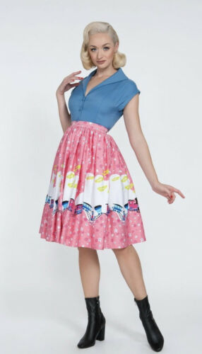 Pinup Couture Mary Blair Skirt Size L