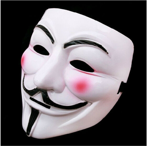 Adult Cosplay Party Masquerade Mask V Vendetta Scary Men Women Masks F2C