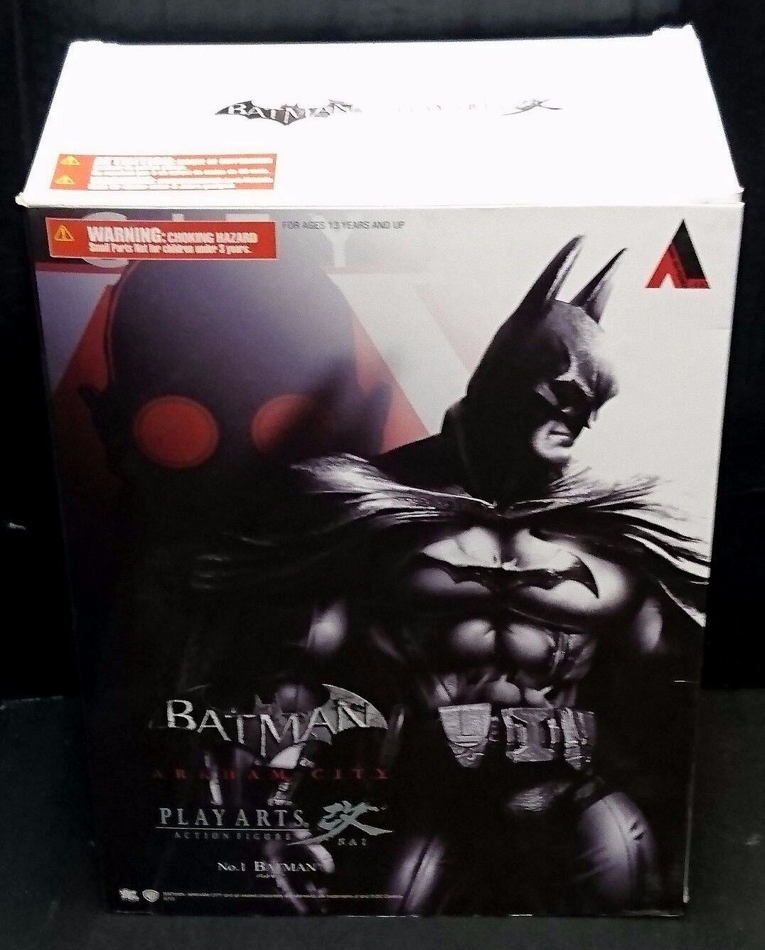 Play Arts Kai Arkham City BATMAN 9  23cm Action Figure New  Rare  No.1