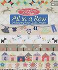 Moda All-Stars: All in a Row: 24 Row-by-Row Quilt Designs by Martingale & Company (Paperback, 2016)